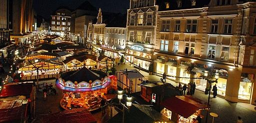 Weihnachtsmarkt Recklinghausen.Recklinghausen